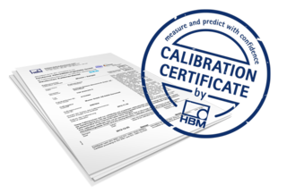 support download of calibration certificates hbm
