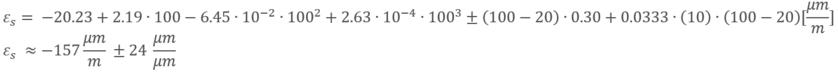 Cálculo de tensión de salida térmica