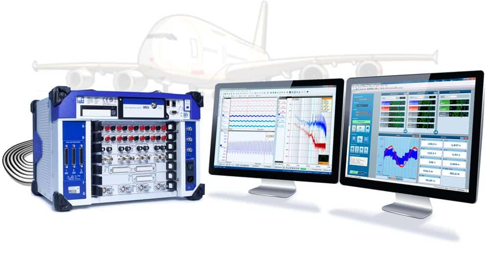 Aerospace Data Acquisition System : Advanced aircraft electric system equipment testing hbm