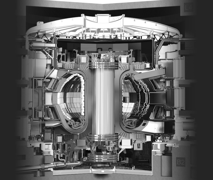 Fusion reactor of ITER