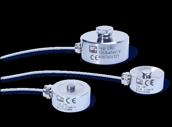 Miniaturkraftsensor C9c F 252 R Druckkr 228 Fte Hbm