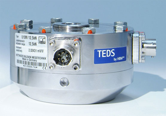 HBM's U10M load cell with TEDS capability.