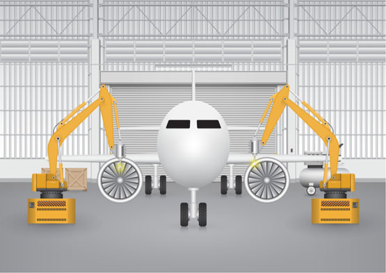 Typical fields of application include robotics and aircraft assembly.