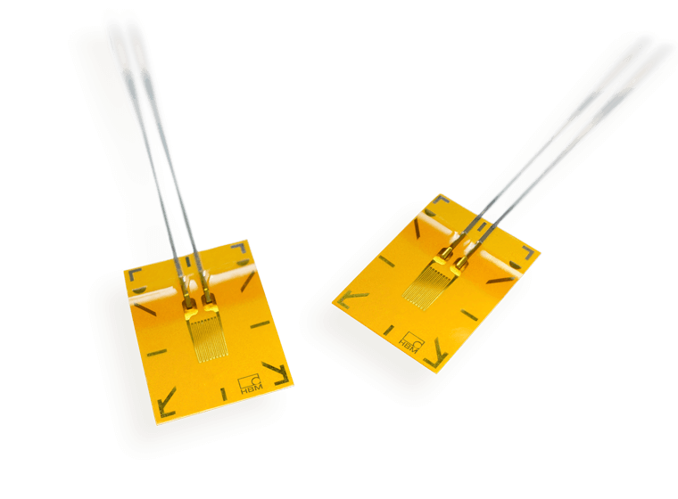 Strain gauges selection
