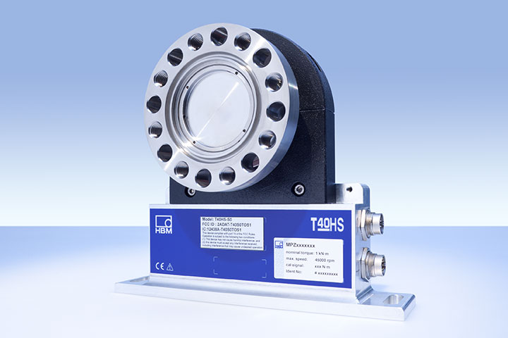 T40 Torque transducer from HBM