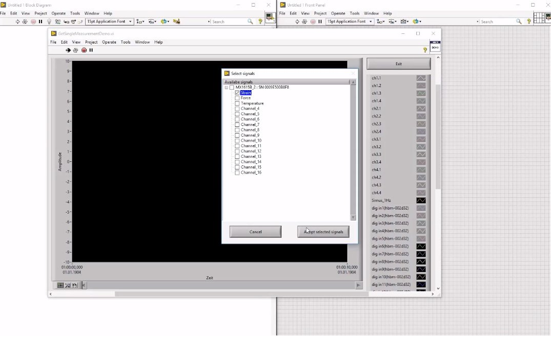 LabVIEW: Channel Set Up