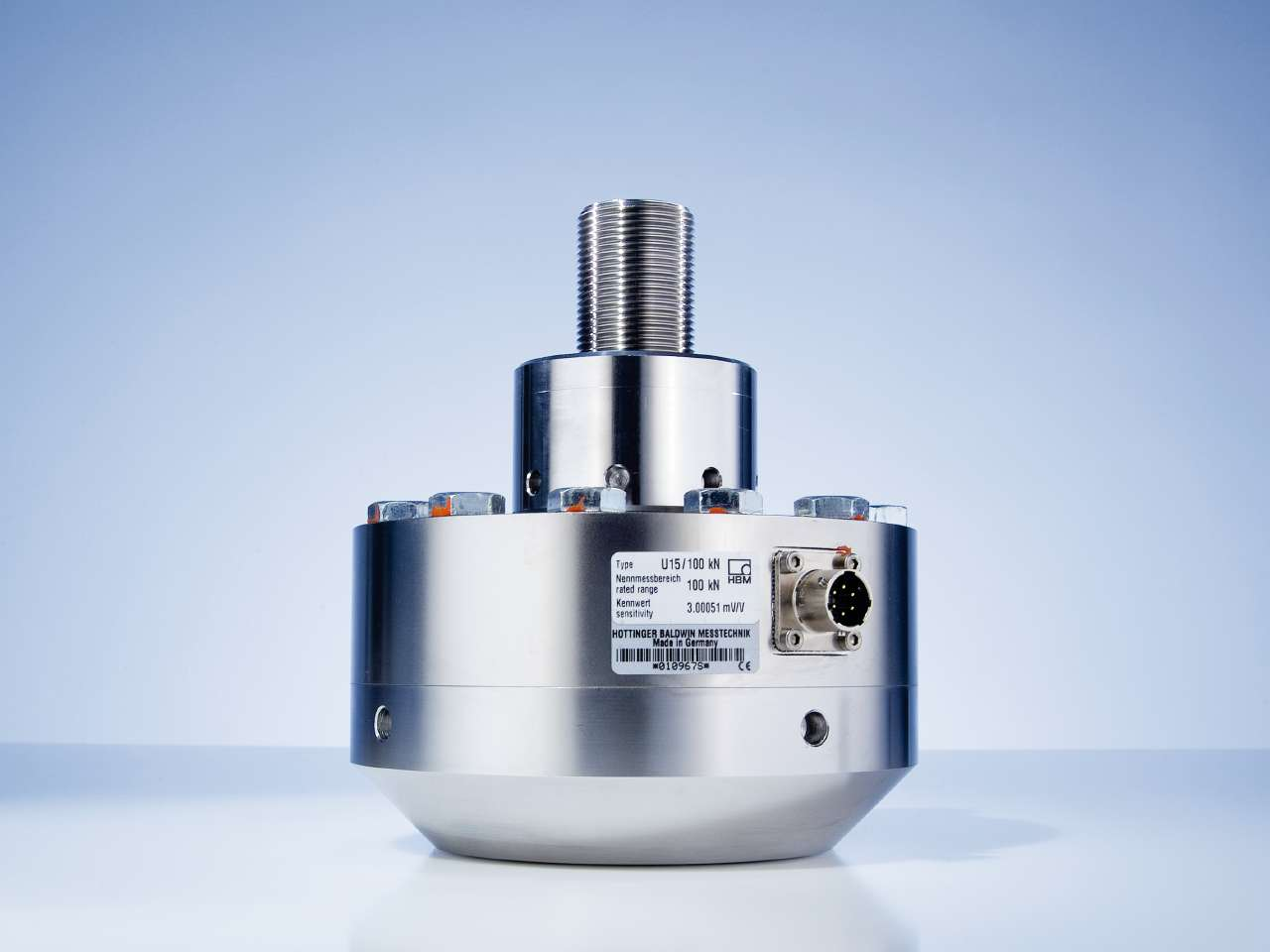 U15 high-precision force transducer from HBM