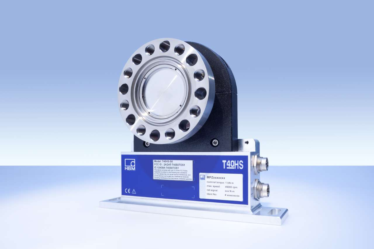 T40HS High-Speed Torque Transducer